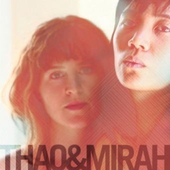 Thao and Mirah's Self-Titled Album Art